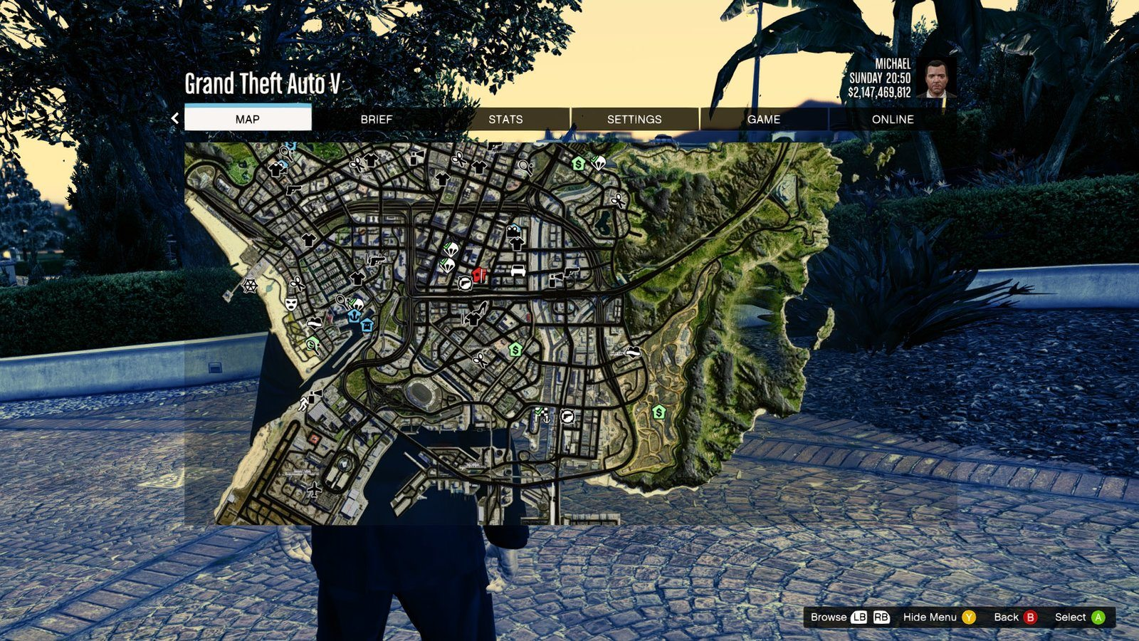 how to change view in gta 5 pc