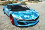 Dinka Jester (Racecar) Camo Blue / Blood / Rainbow