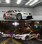 The M Machine Livery for the BMW i8 / Винил